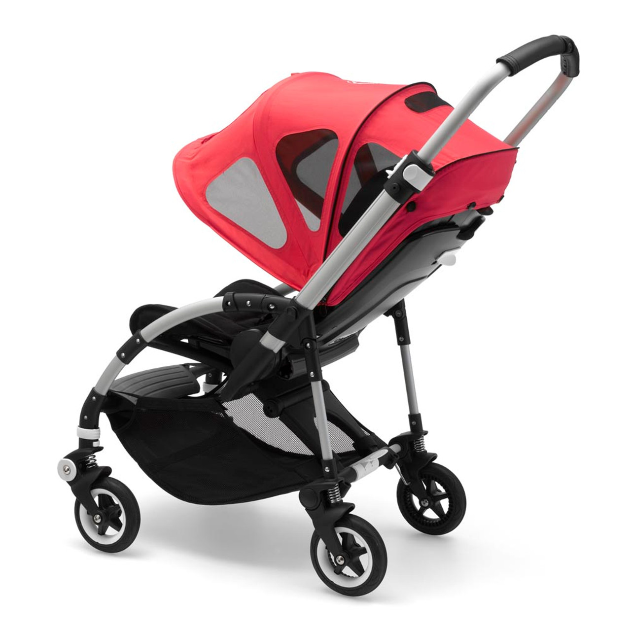 Britax Duo Twin Dolls Buggy Hot Pink Bugaboo Bee Breezy Canopy Neon Red