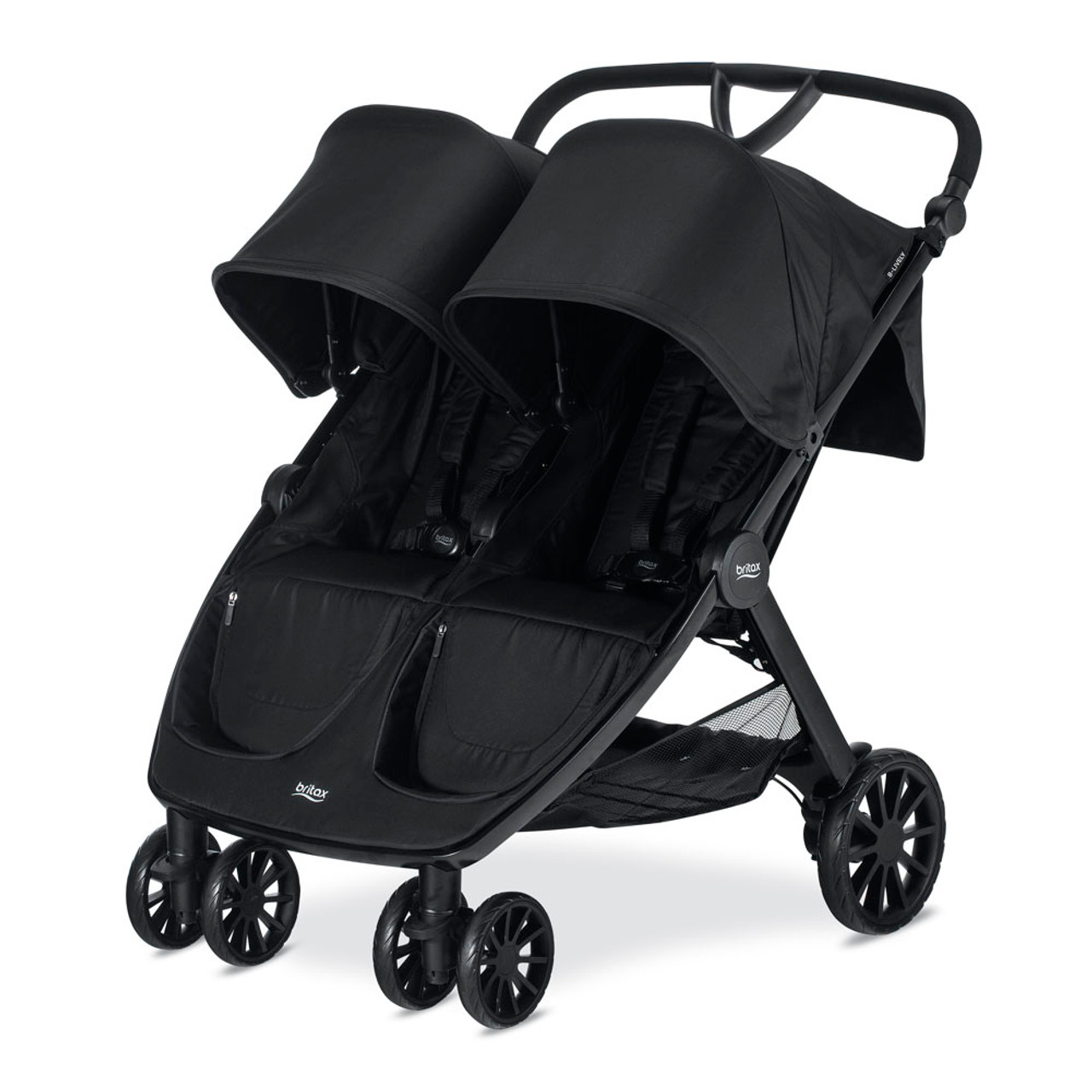 Britax Car Seat With Stroller Britax B Lively Double Stroller Raven