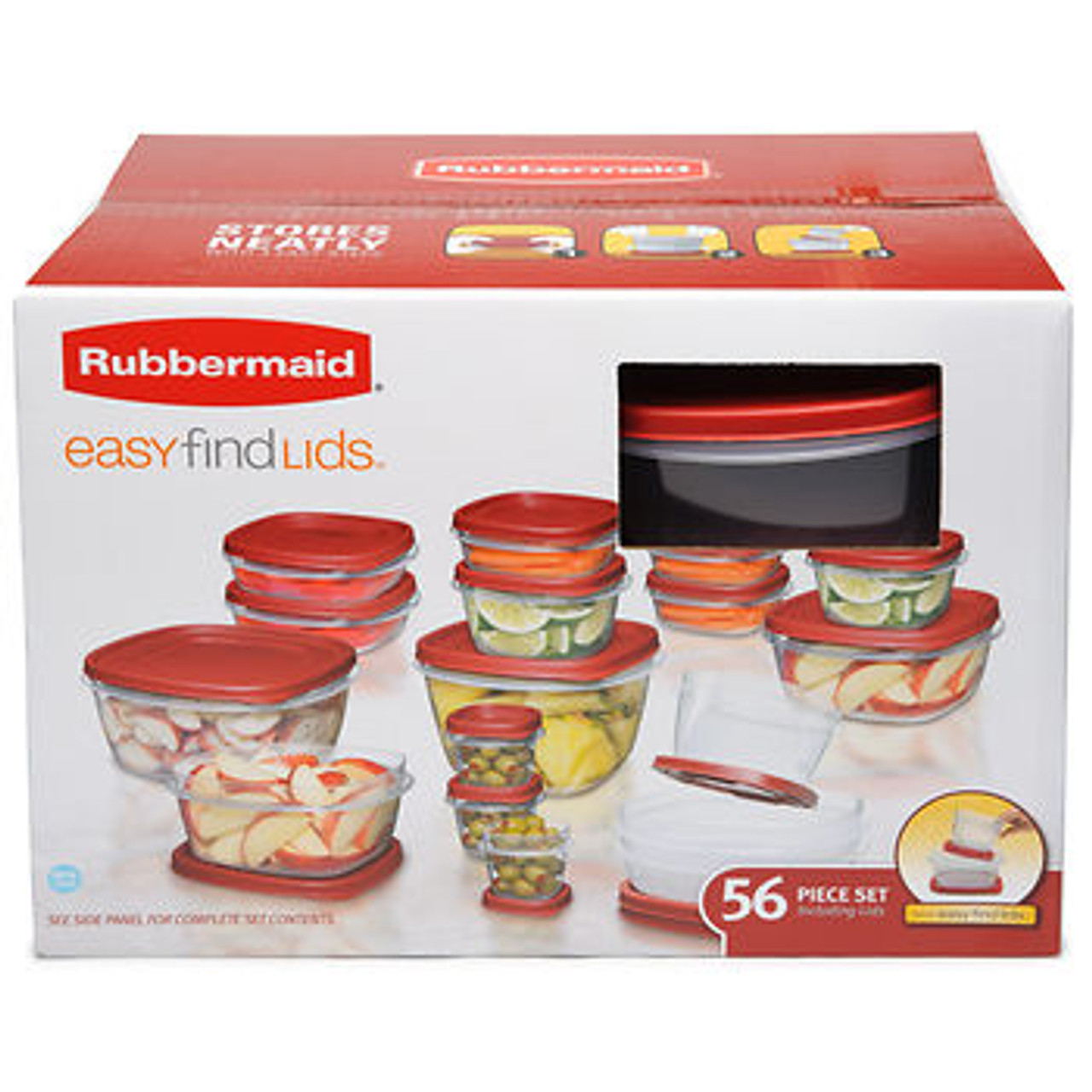 Rubbermaid 56 Pc Food Container Set