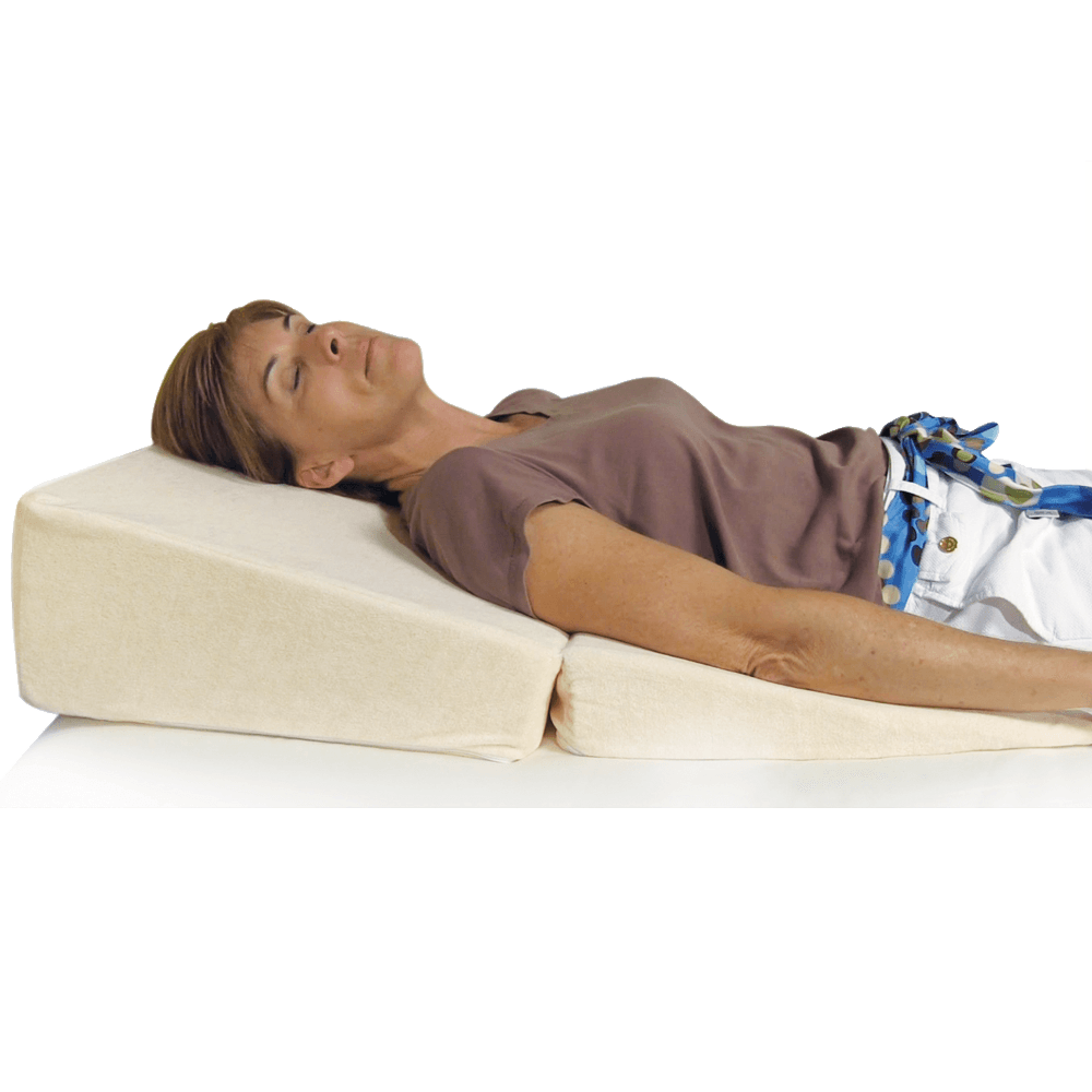 Angled Pillow For Acid Reflux Folding Bed Wedge Cushion