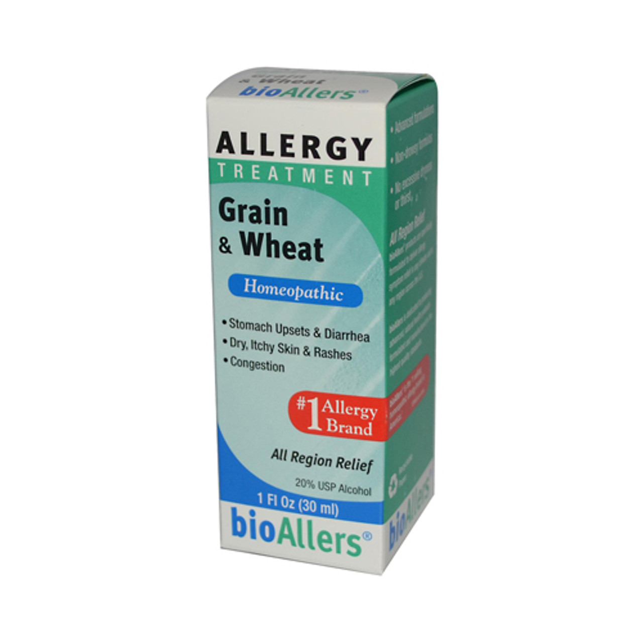 Grain Bio Bio Allers Grain And Wheat Allergy Treatment 1x1 Fl Oz