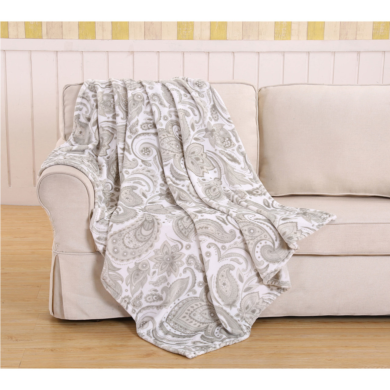 Throw Blankets Jessica Collection Micro Plush 50x60 Throw Blankets