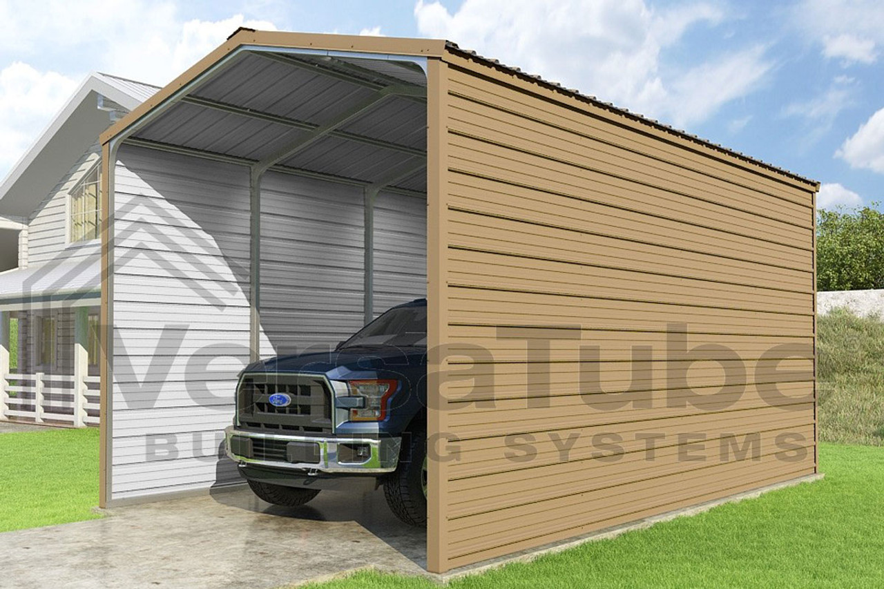 Zeichnung Carport Grand Carport 2 Sided 12x20x10 Free Shipping