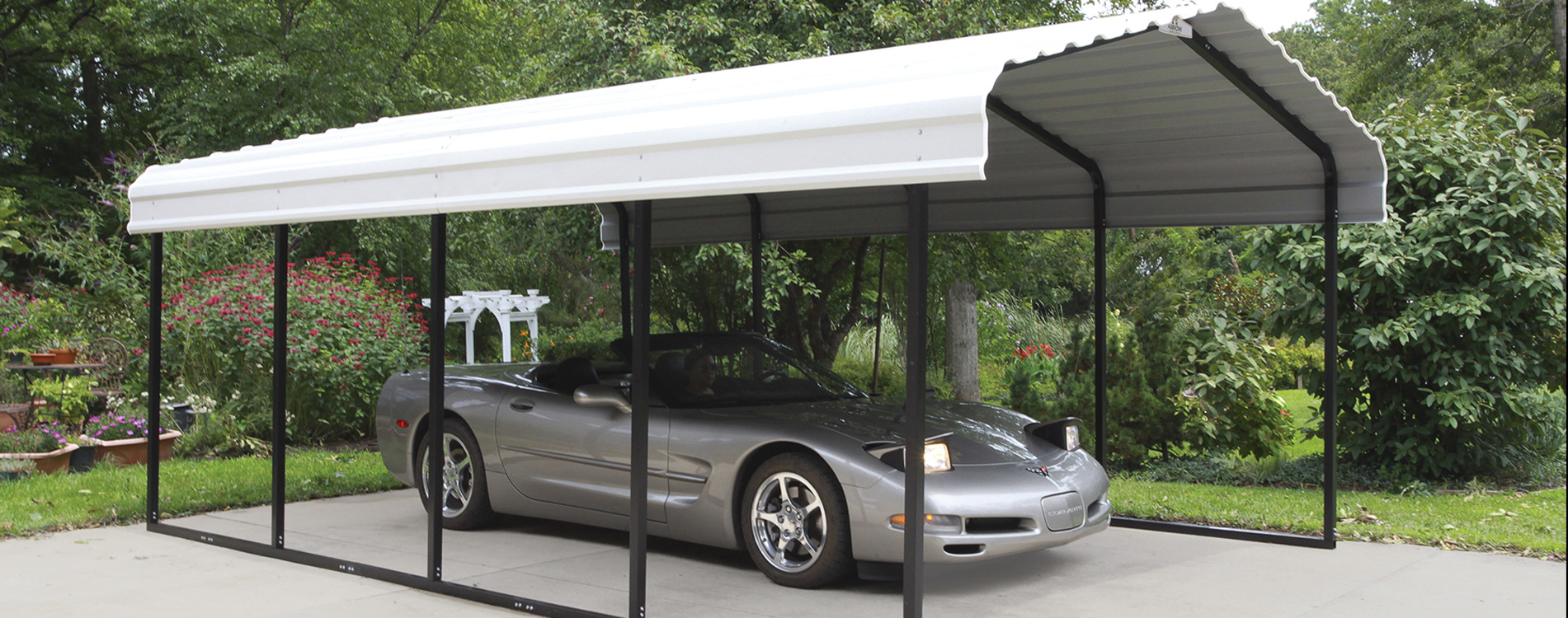 Carport Discount Shelters Of New England Portable Garages Carports And Canopies