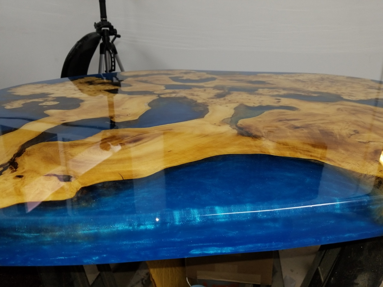 Stone Bench Tops Off Cuts Stone Coat Buckeye Burl Table Top