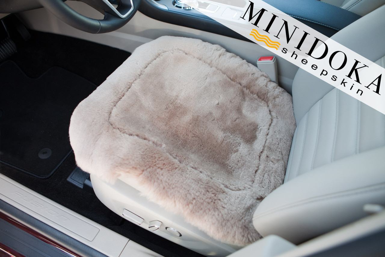 Car Seat Cushions Australia Minidoka Sheepskin Universal Seat Pad Ultimate Comfort Pressure Relief Year Round Comfort By Desert Breeze Distributing