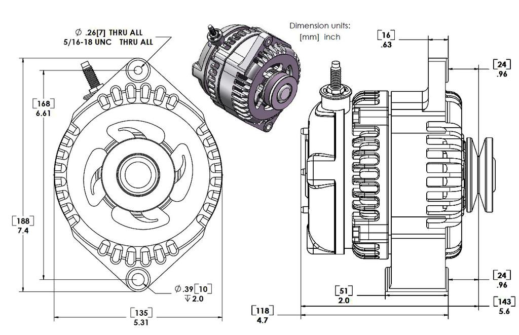 ford 300 alternator wiring