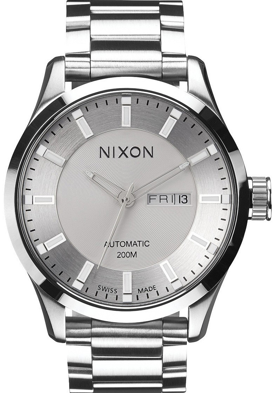 Steel Watch Nixon Swiss Automatic Ii Steel