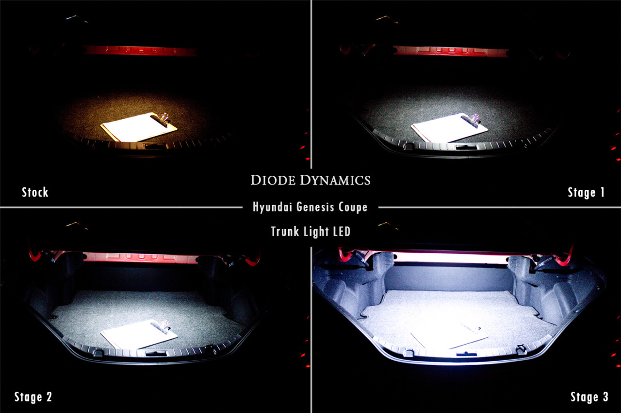 Diode Lighting Diode Dynamics Trunk Led For 2010 2016 Hyundai Genesis Coupe
