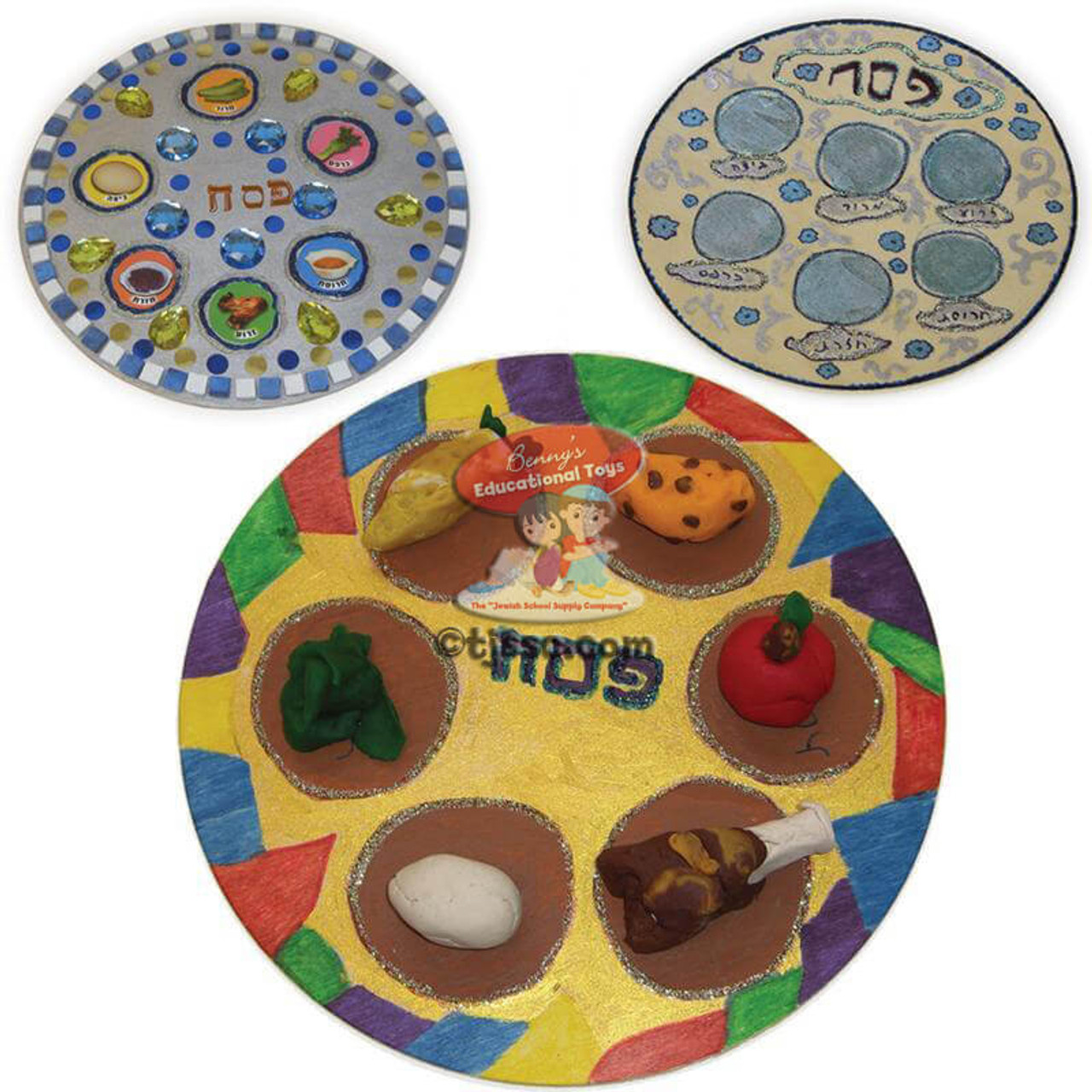 Art Decorating And Crafting Large Wooden Circle For Seder Plate Crafting 10