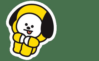 Cute Cartoon Flower Wallpaper Chimmy Bt21 Kpop Bts Jimin Cute Dog Yellow