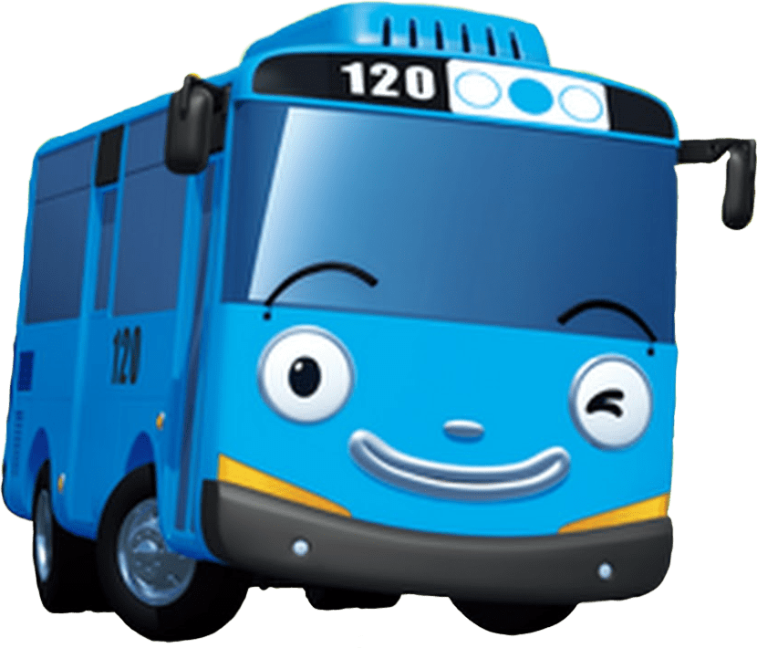 Cute Wallpaper For Summer Tayo Bus Sticker By Sugart