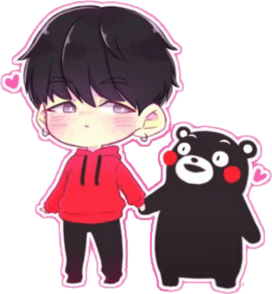Cute Love Animation Wallpaper Bts Suga Yoongi Kawaii Minyoongi