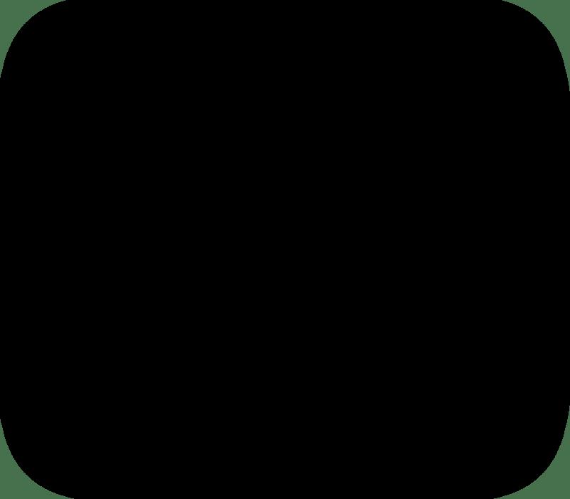 Shadow Box Square Shape Black Grey Shade Effects