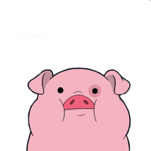 Cute Sheep Drawing Tumblr Tumblr Pig Cute Cutepig Reaction Wallpaper Animal Anime