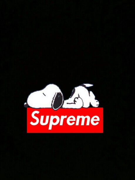 Cute Snoopy Wallpaper Picsart Snoopy Supreme Image By Lmachii88