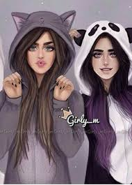 Anime Friends Wallpaper 1000 Awesome Girly M Images On Picsart