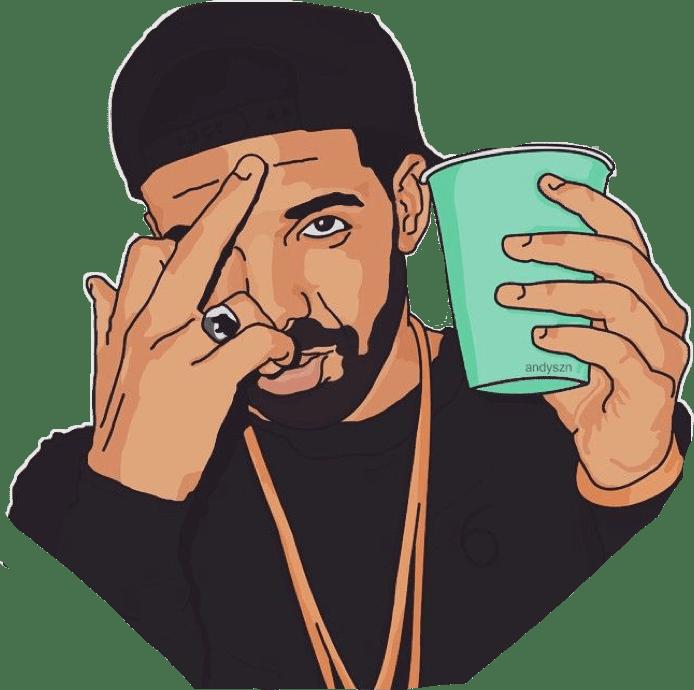 Supreme Wallpaper Girl Cartoon Drake Ovo Middlefinger Trill Illest Credittoartist Free