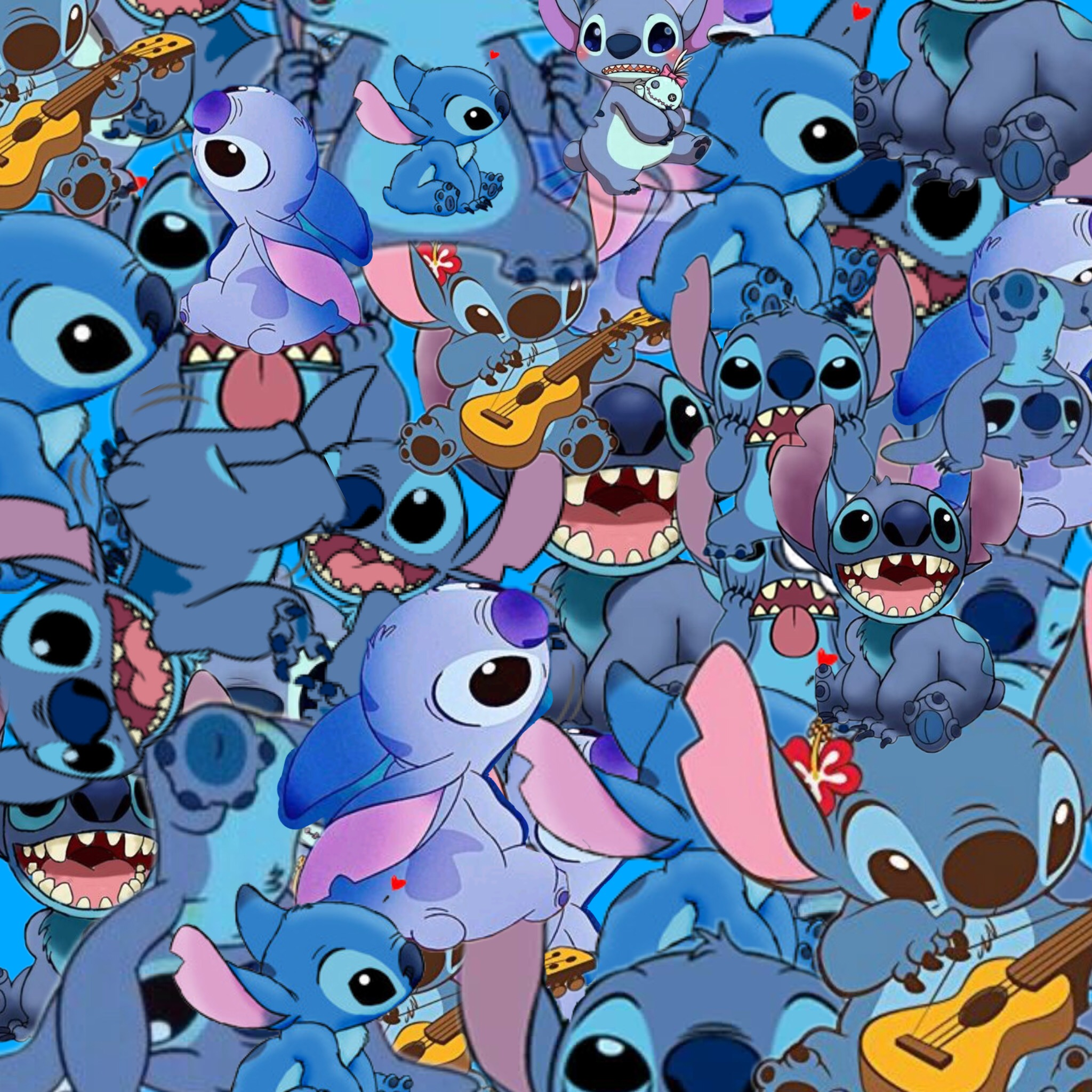 Cute Cartoon Angel Wallpaper Freetoedit Wallpaper Stitch Blue Art Interesting Cartoo