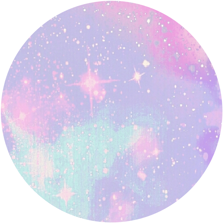 Tumblr Sticker Pastel Circle Pastel Purple Pink Turquoise Tumblr