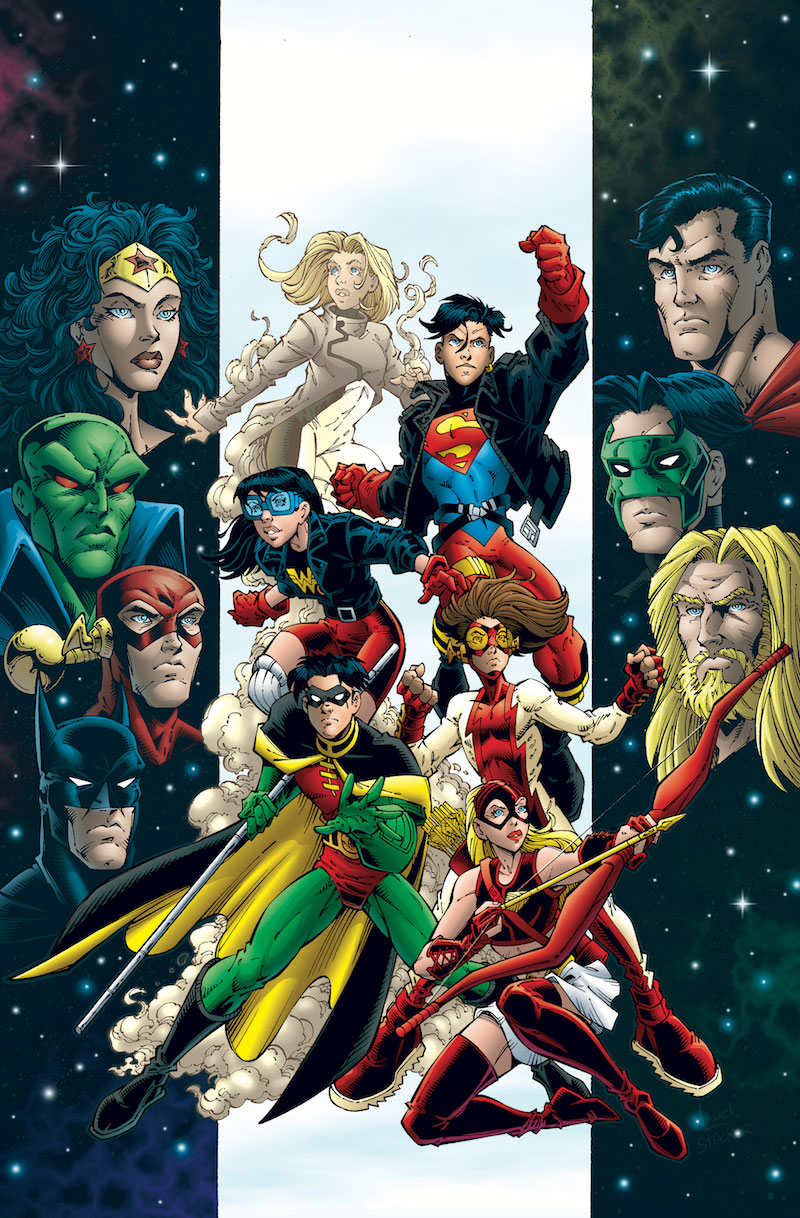 Young justice book one tp