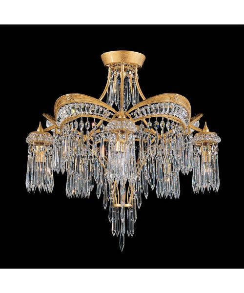 Medium Of Flush Mount Chandelier