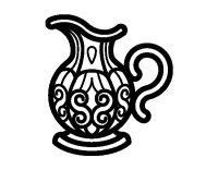 Disegno di Brocca d'acqua da Colorare - Acolore.com