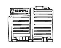 Disegno di Ospedale da Colorare - Acolore.com