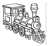 Disegno di Treno 3 da Colorare