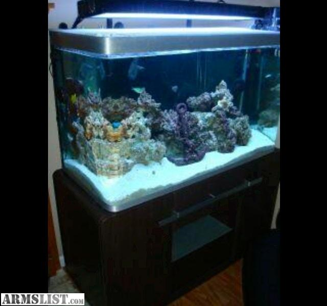 For Sale/Trade: 90 gallon Acrilic fish tank.