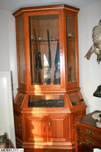 ARMSLIST - For Sale: Custom Gun Cabinet