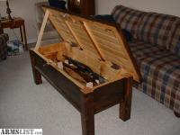 ARMSLIST - For Sale: Hidden Compartment Locking Rifle ...