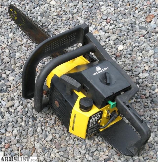 mcculloch chainsaw manual mac 10 10