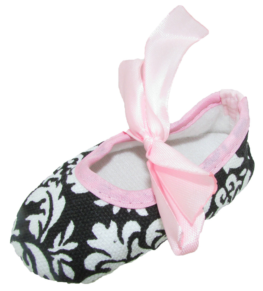 Newborn Crib Shoes Baby Shoes Infant Or Newborn Crib Shoes Damask With Light