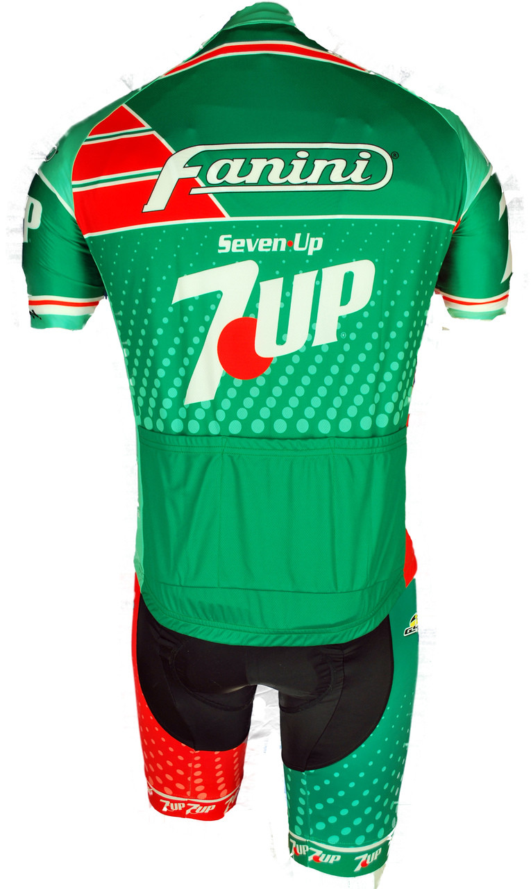 Retro Jerseys Seven Up Fanini Full Zipper Retro Jersey