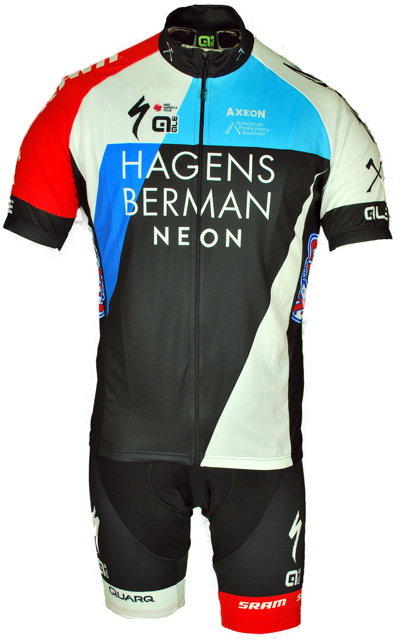 Cycling Clothing 2018 Team Hagens Berman Axeon Full Zipper Jersey