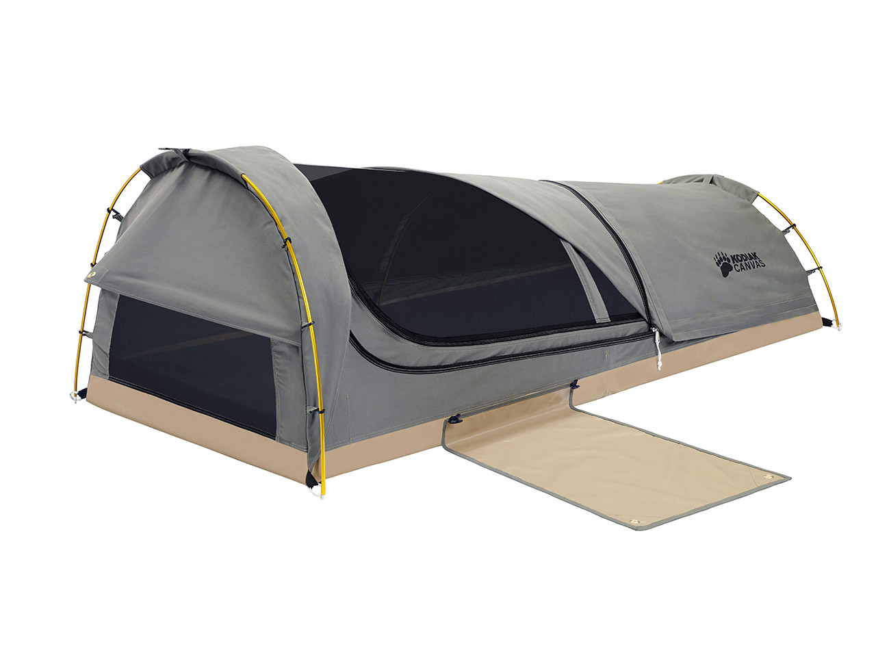Big W Portable Cot Swag 1 Person Canvas Tent Kodiak Canvas