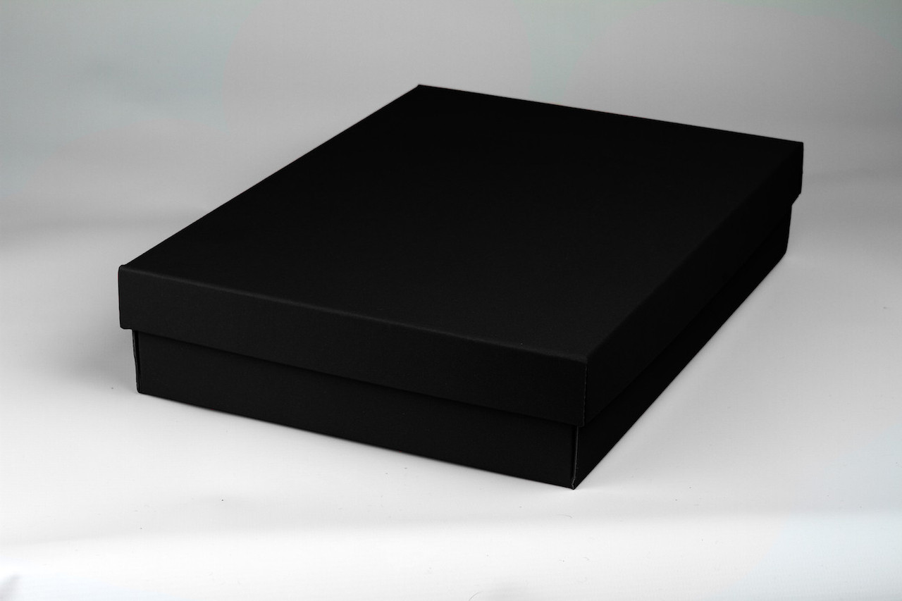 Black Gift Boxes Medium A4 Size Gift Boxes Available In 4 Elegant Colours Easy Assembly 100 Recyclable 5 Boxes Per Pack