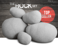 Rock Pillow Covers Set | RockPillows.com