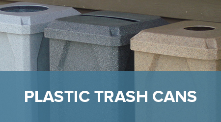 Commercial Trash Receptacles Waste Containers