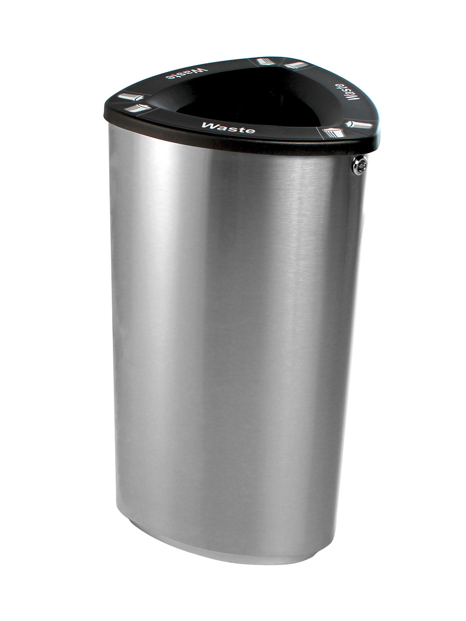 Stainless Steel Recycling Bins 21 Gallon Boka Stainless Steel Trash Can Or Recycling Bin Boka Ss