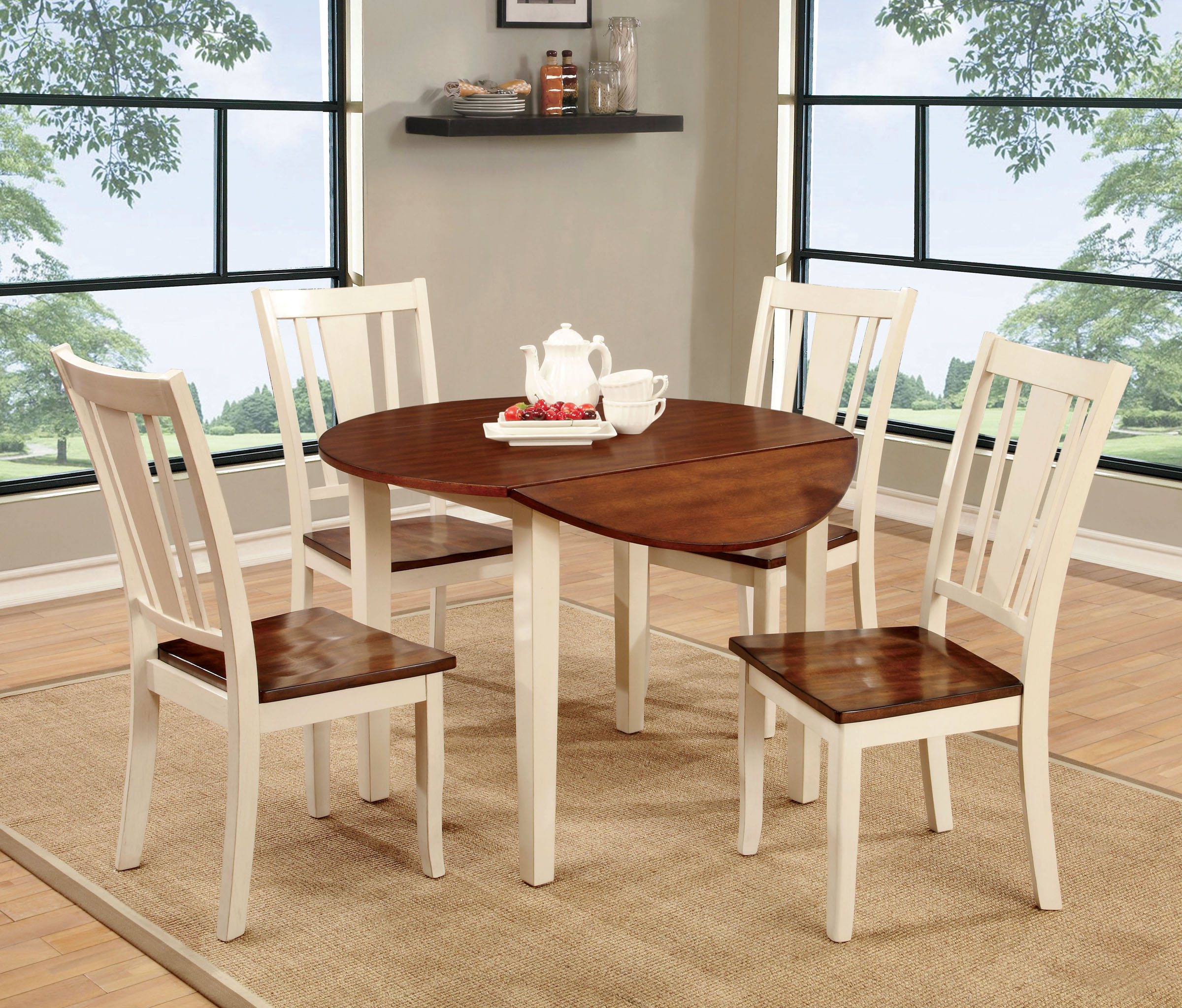 Round Dining Table With Extensions What Is A Dining Table Extension Leaf