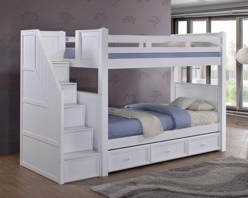 Medium Of Wood Loft Bed