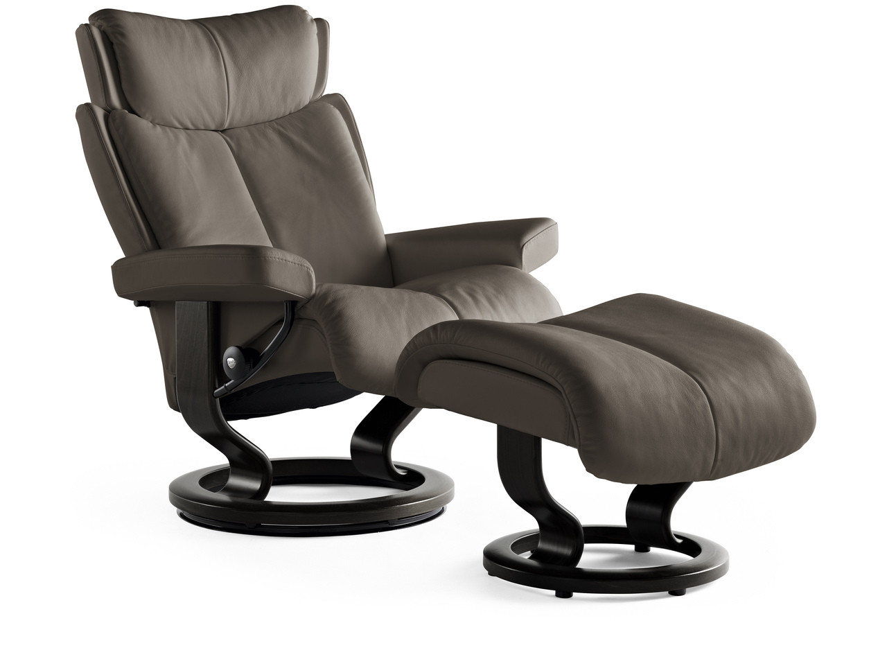 Stressless Recliners With Ottoman Ekornes Stressless Magic Recliners And Chairs Worry Free