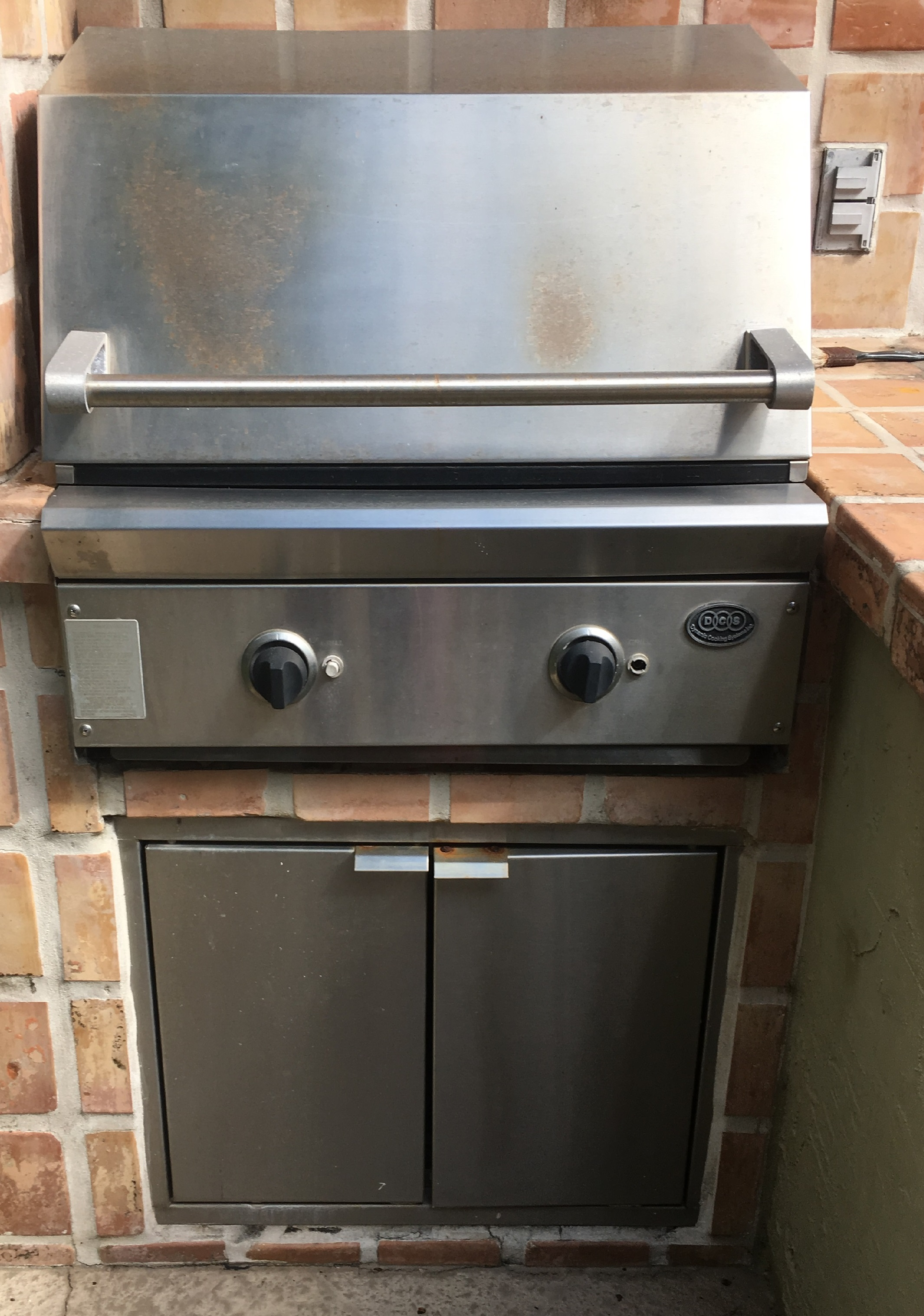 Bunnings Outdoor Heaters Electric Replacing Your Dcs 27 Built In Grill With An Alfresco