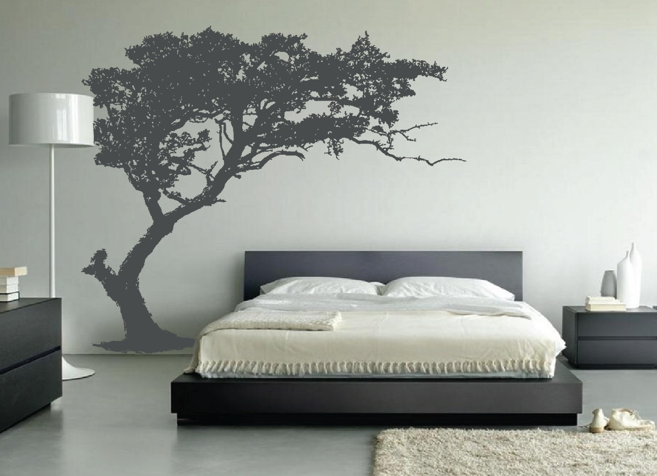 Dibujos Para Decorar Paredes Juveniles Large Wall Tree Decal Forest Decor Vinyl Sticker Highly