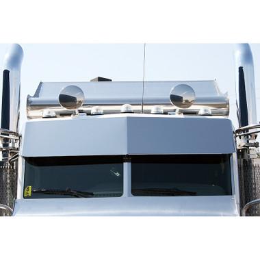 Peterbilt 384 Drop Visor By Valley Chrome Raney39s Truck