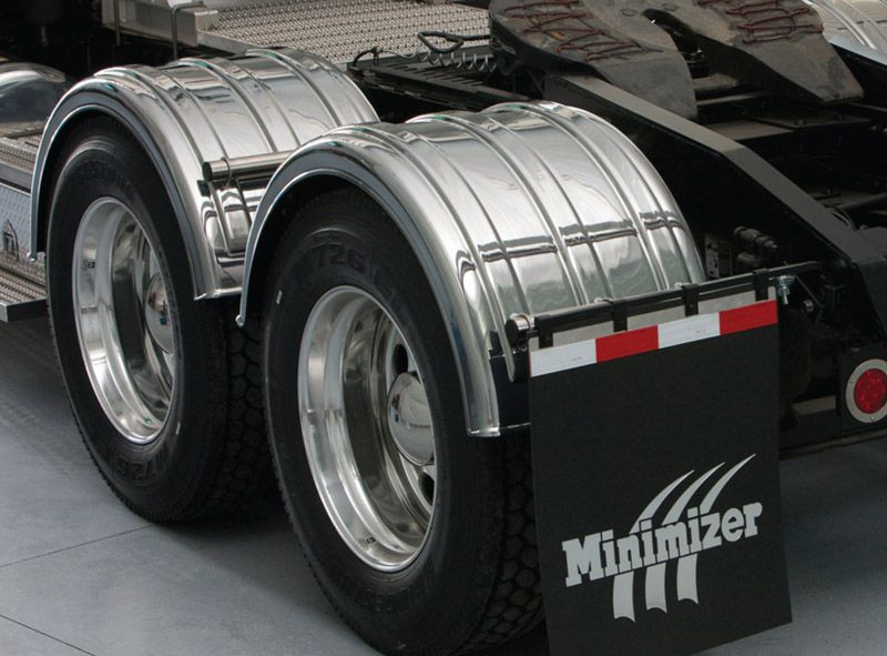 Minimizer 2260 Series Chrome Poly Fenders Raney39s Truck