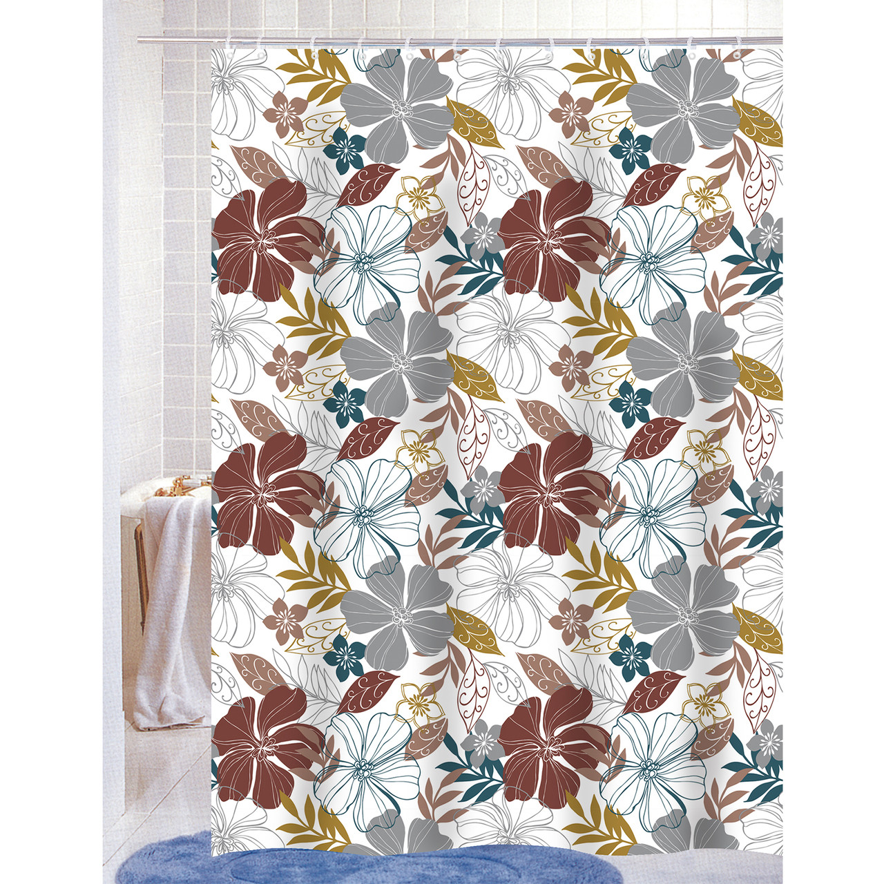 Shower Curtains For Less A Standard Shower Curtain Size Guide Linen Store