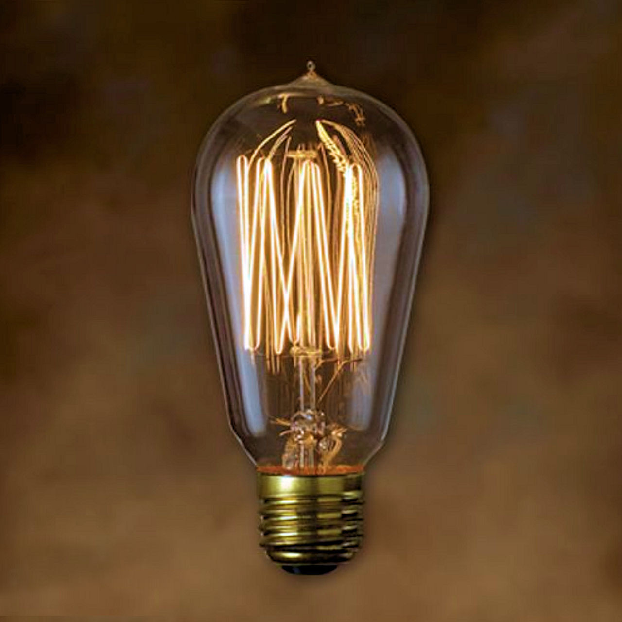 60w Light Bulb Bulbrite Nostalgic Antique St18 Signature 60w Light Bulb Thread Filament
